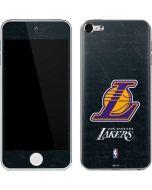 Los Angeles Lakers Secondary Logo Apple iPod Skin