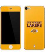 Los Angeles Lakers Standard - Gold Apple iPod Skin
