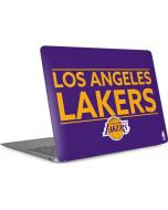 Los Angeles Lakers Standard - Purple Apple MacBook Air Skin