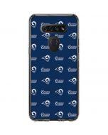 Los Angeles Rams Blitz Series LG K51/Q51 Clear Case