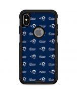 Los Angeles Rams Blitz Series Otterbox Commuter iPhone Skin