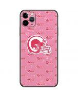 Los Angeles Rams Pink Logo Blast iPhone 11 Pro Max Skin