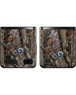Los Angeles Rams Realtree AP Camo Galaxy Z Flip Skin