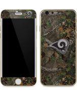 Los Angeles Rams Realtree Xtra Green Camo iPhone 6/6s Skin