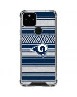 Los Angeles Rams Trailblazer Google Pixel 5 Clear Case