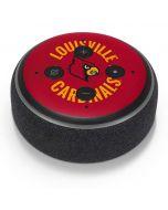 Louisville Cardinals Faded Amazon Echo Dot Skin
