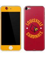 Louisville Cardinals Faded Apple iPod Skin