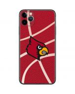Louisville Red Basketball iPhone 11 Pro Max Skin