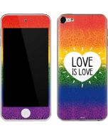 Love Is Love Rainbow Apple iPod Skin