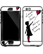 Love Isnt Love Til You Give It Away LifeProof Nuud iPhone Skin