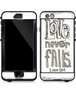 Love Never Fails LifeProof Nuud iPhone Skin