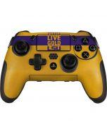 Love Purple Live Gold LSU PlayStation Scuf Vantage 2 Controller Skin