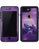 Loving Wolves iPhone 7 Plus Waterproof Case