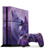Loving Wolves PS4 Console and Controller Bundle Skin