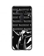 Maleficent Black and White LG K51/Q51 Clear Case