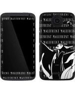 Maleficent Black and White One X Skin