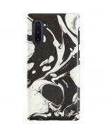 Marbleized Black Galaxy Note 10 Pro Case
