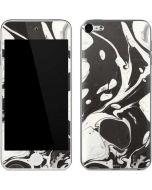 Marbleized Black Apple iPod Skin