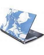 Marbleized Blue Generic Laptop Skin