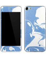 Marbleized Blue Apple iPod Skin
