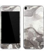 Marbleized Grey Apple iPod Skin