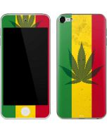 Marijuana Rasta Flag Apple iPod Skin