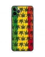 Marijuana Rasta Pattern iPhone 11 Pro Max Skin