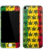 Marijuana Rasta Pattern Apple iPod Skin