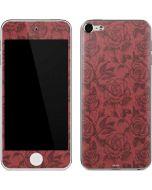 Marsala Rose Apple iPod Skin