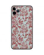 Marsala White Rose iPhone 11 Pro Max Skin