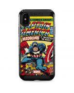 Marvel Comics Captain America iPhone XS Max Cargo Case