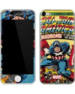 Marvel Comics Captain America Apple iPod Skin