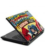 Marvel Comics Captain America Lenovo T420 Skin