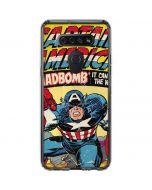Marvel Comics Captain America LG K51/Q51 Clear Case