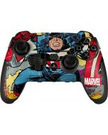 Marvel Comics Captain America PlayStation Scuf Vantage 2 Controller Skin