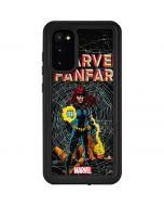 Marvel Comics Fanfare Galaxy S20 Waterproof Case