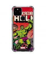 Marvel Comics Hulk Google Pixel 5 Clear Case