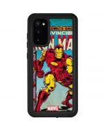 Marvel Comics Ironman Galaxy S20 Waterproof Case