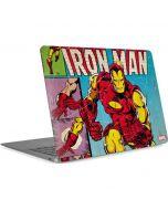 Marvel Comics Ironman Apple MacBook Air Skin