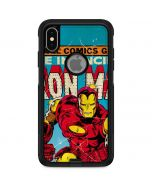 Marvel Comics Ironman Otterbox Commuter iPhone Skin