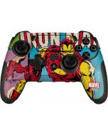 Marvel Comics Ironman PlayStation Scuf Vantage 2 Controller Skin