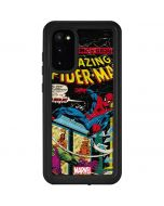 Marvel Comics Spiderman Galaxy S20 Waterproof Case