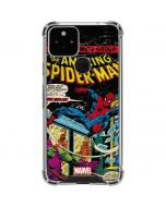 Marvel Comics Spiderman Google Pixel 5 Clear Case