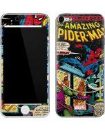 Marvel Comics Spiderman Apple iPod Skin