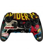 Marvel Comics Spiderman PlayStation Scuf Vantage 2 Controller Skin