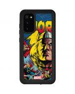 Marvel Comics Thor Galaxy S20 Waterproof Case