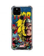 Marvel Comics Thor Google Pixel 5 Clear Case