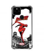 Marvel The Defenders Daredevil Google Pixel 5 Clear Case