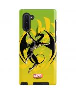 Marvel The Defenders Iron Fist Galaxy Note 10 Pro Case