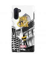 Marvel The Defenders Luke Cage Galaxy Note 10 Pro Case